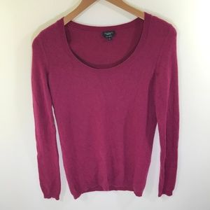 Talbots Pink Cashmere Sweater Size XS